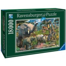 RAVENSBURGER 18000 EL. PENFOUND: at the...