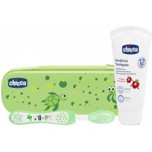 CHICCO Kit toothpaste ja hambahari holder +...