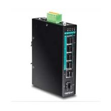 TRENDNET 5-PORT GGB POE+ DIN-RAIL SWITC