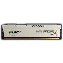 Mälu KINGSTON DIMM 8GB PC14900 DDR3/FURY WH...