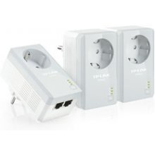 TP-LINK TL-PA4020PT KIT AV500+ Powerline 3er...