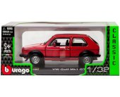 Bburago VW GOLF MARK 1 GTI (RED)