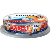 Диски Philips DVD+R 4,7GB 10pcs spindel 16x