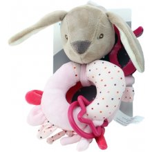 Axiom Rattle uus Baby Rabbit pink 16 cm