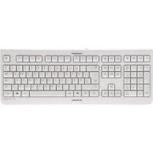 Клавиатура Cherry Tas KC 1000 серый USB