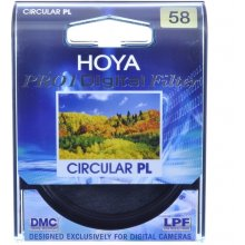 Hoya POLARISING FILM PL-CIR PRO1D 58 MM