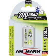Ansmann 1 maxE NiMH rech.bat. 9V block 200...