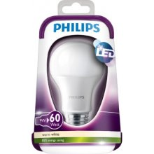 Philips LED Bulb E27 9W (60W) warm-белый...