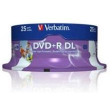 Verbatim 1x25 DVD+R Double Layer 8x Speed...
