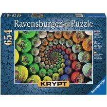 RAVENSBURGER RAVEN. 654 EL. Kolorowa spirala...