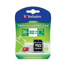 Флешка Verbatim планшет microSDHC 32GB Class...