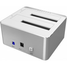 Unitek Dual HDD USB3.0. docking station +...