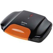Amica Sandwich maker black-orange 1000W GK...