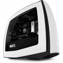 Korpus NZXT Manta Window-Kit must / valge