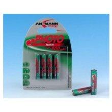Ansmann 1x2 maxE NiMH rech.bat. 900 Micro...