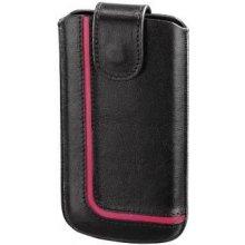 Hama Handy-Sleeve Neon Black Größe L schwarz...