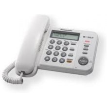 PANASONIC KX-TS580FXW one line Corded phone...