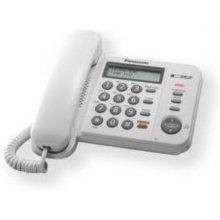 Телефон PANASONIC lauatelefon KX-TS520 белый