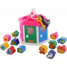 WADER-POLESIE Shape sorter Play House, bag