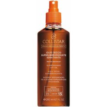 Collistar Supertanning Dry Oil SPF15...