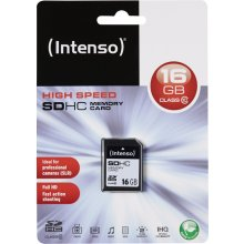 Флешка INTENSO Mälukaart SDHC 16GB Cl10