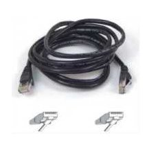 BELKIN CAT 5 e network cable 5,0 m UTP black...