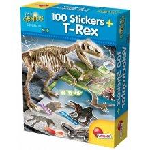 Liscianigiochi I'm Genius 100 T-Rex stickers
