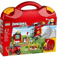 LEGO Juniors Walizeczka - straż pożarna
