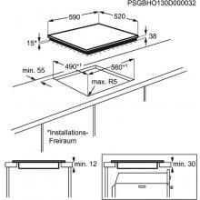 Плита ELECTROLUX Int.keraamiline plaat