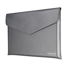TOSHIBA PX1858E-1NCA, 15.6, Sleeve, hõbedane