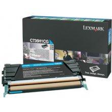 Tooner Lexmark C736H1CG, 10000 pages, Laser...