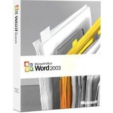 Microsoft Word 2003, Open-NL, Win32, Lic/SA...