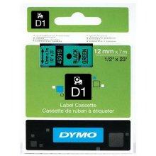 Dymo Markeerimislint D1, 12mm x 7m чёрный...