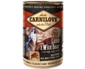 Carnilove Wild Meat Lamb & Wild Boar for...
