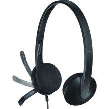 LOGITECH kõrvaklapid H340 USB