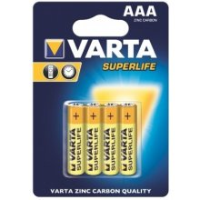 VARTA zinc carbon batteries R3 (AAA) 4pcs...