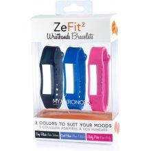 MyKronoz Stripes for ZeFit2 3pak Classic