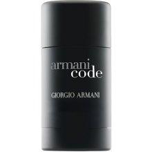 Giorgio Armani чёрный Code, Deostick 75ml...