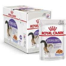 Royal Canin STERILISED in Jelly 12x85G (FHN)