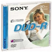 Toorikud Sony DVD-R 1,4GB 30min mini