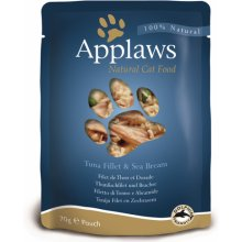 Applaws Eine kotike Tuna&Sea bream 12x70g