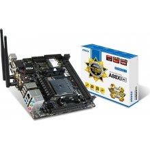 Emaplaat MSI A88XI AC, DDR3-SDRAM, 1333...