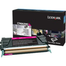 Tooner Lexmark C746A2MG Cartridge, Magenta...