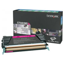Тонер Lexmark C734A1MG, 6000 pages, Laser...