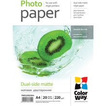 ColorWay Matte Dual-Side фото Paper, 20...