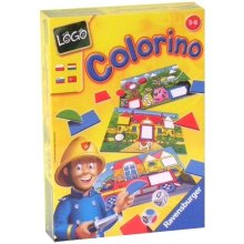 RAVENSBURGER RAVEN. Gra Logo Colorino