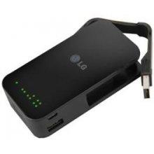 LG Mobile батарея / 5200mAh 1a 1xUSB Black