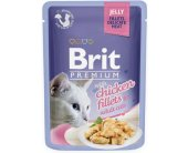 Brit Chicken Fillets in Jelly for Adult Cats...