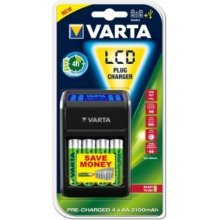 VARTA LCD Plug akulaadija incl. 4 Akkus 2100...