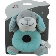Axiom Rattle uus Baby Dog in mint color 18...